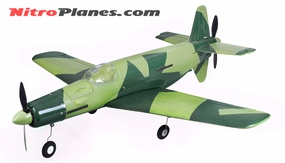"EP 37.0"" Aerobatic Do-335 Dornier Pfeil Twin Dual Engine EPO Foamy Scale Plane KIT Airframe (Green)"