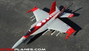 Exceed RC 4-CH 70mm Red Viper F18 Radio Remote Control RC EDF Jet ARF RC Remote Control Radio