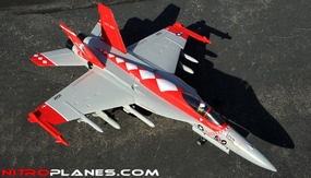 Exceed RC  4 Channel  Extreme Detail RC Red Viper F18 Radio Control EDF Jet KIT Airframe RC Remote Control Radio