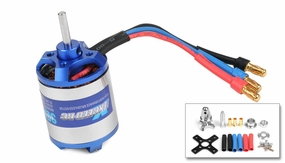 Exceed RC Brushless Motor 1380kv  13 Turn Rating for Airplanes
