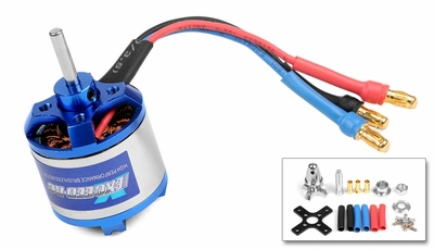 Exceed RC Brushless Motor 1950kv  5 Turn Rating for Airplanes