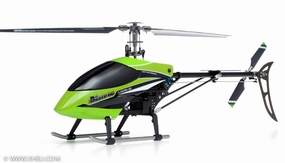 Exceed RC Classima 300 Flybarless 2.4Ghz Metal Ready to Fly RTF Helicopter w/ Auto Stabilizing Gyro/LCD Digital Transmitter (Green)