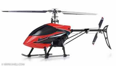 Exceed RC Classima 300 Flybarless 2.4Ghz Metal Ready to Fly RTF Helicopter w/ Auto Stabilizing Gyro/LCD Digital Transmitter (Red)