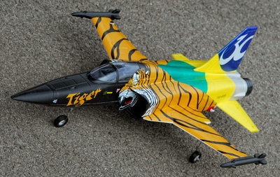 Exceed RC F-5E 64MM Ducted Fan Jet Swiss Tiger Version* Receiver-Ready Version * RC Remote Control Radio