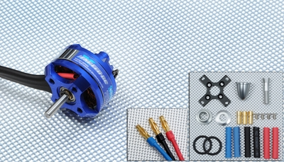 Exceed RC Rocket Brushless Motor 1100kv 27 Turn Rating