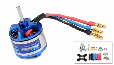 Exceed RC Rocket Brushless Out Runner Motor for Airplane (1100KV)
