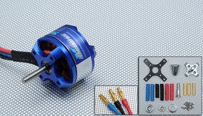 Exceed RC Rocket Brushless Out Runner Motor for Airplane (1400KV)