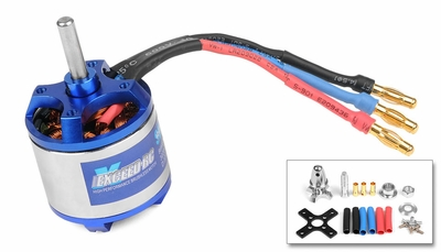 Exceed RC Rocket Brushless Out Runner Motor for Airplane (600KV)