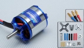 Exceed RC Rocket Brushless Out Runner Motor for Airplane (870KV)