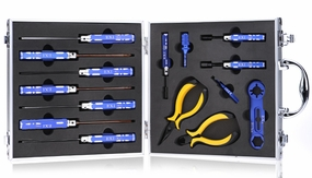 EXI 15pcs Tool Set Kit for Hobby Cars/Trucks/Buggies EXI-CarTool-Set
