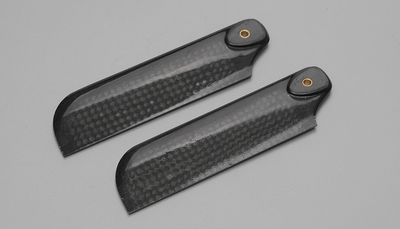 Tail Blade: EXI-600 Carbon Fiber Tail Blade for 600-Size RC Helicopter (92mm) EXI-Pro-0921