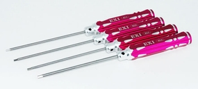 EXI Hex Wrench Set, 1.5mm 2.0mm 2.5mm 3.0mm (4) S703_MetricHexDriverSet