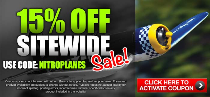 Nitroplanes Extra 15% OFF SiteWide!