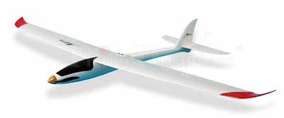 "Flying Dream Alps 67"" 3-Channel EP Powered Glider ARF"