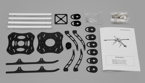 Flying Robot 400 QuadCopter Airframe KIT RC Remote Control Radio