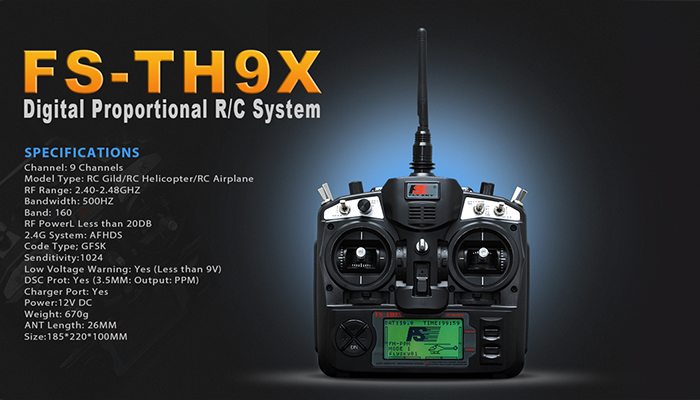 th9x 2 4ghz 9ch transmitter rc helicopters airplanes RC Receiver Connection Diagrams RC ESC Wiring 9ch rc plane wiring diagram