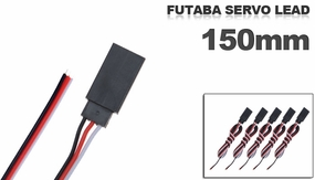 Futaba Servo lead 150mm (5 pcs) 79P-10082
