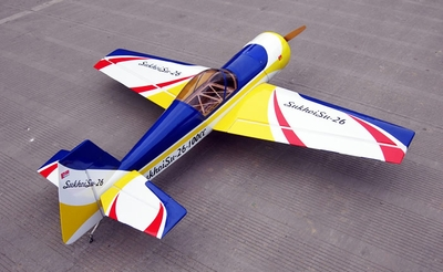 "Giant Scale SU-26 85CC-100CC - 101"" Nitro Gas   Airplane ARF RC Remote Control Radio"
