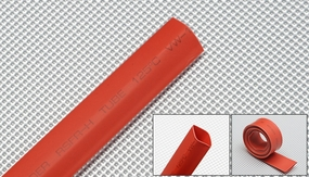 heat-shrinkable tubing    ?10---red 79P-10174