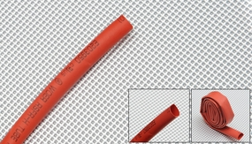 heat-shrinkable tubing    ?6---red 79P-10172