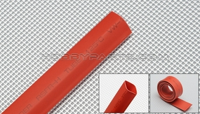 heat-shrinkable tubing    ?8---red 79P-10173