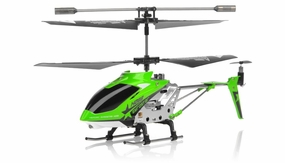 Hero RC  H288 3 Channel Mini Indoor Co-Axial Helicopter w/ bonus blades, balance bar,connect buckle,tail blade & tail decoration(Green) RC Remote Control Radio