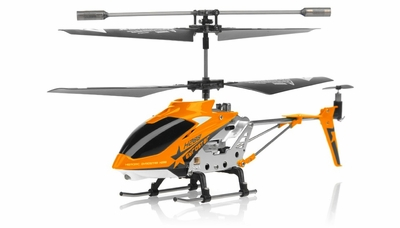 Hero RC  H288 3 Channel Mini Indoor Co-Axial Helicopter w/ bonus blades, balance bar,connect buckle,tail blade & tail decoration(Orange) RC Remote Control Radio
