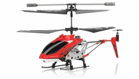 Hero RC  H288 3 Channel Mini Indoor Co-Axial Helicopter w/ bonus blades, balance bar,connect buckle,tail blade & tail decoration (Red) RC Remote Control Radio