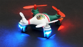Hero RC Mini World Mexico Micro 2.4ghz 4CH 6 Axis Gyro LED Quad Copter Ready to Fly w/Headless Mode RC Remote Control Radio
