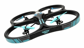 "Hero RC XQ-5 V626 UFO Drone 4 Channel 6 Axis Gyro Quadcopter 2.4ghz Ready to Fly Headless Mode w/ Extra Spare Battery  - Large Giant Size 21.60"" Drone GoPro Camera Mountable"