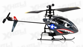 HeroRC H911 iRocket Helicopter Replacement Parts 28P-H911-Part-WholeHeli