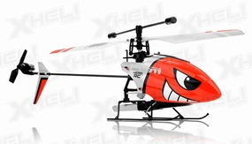 HeroRC H911 iRocket Helicopter Replacement Parts Red 28P-H911-Part-WholeHeli-Red