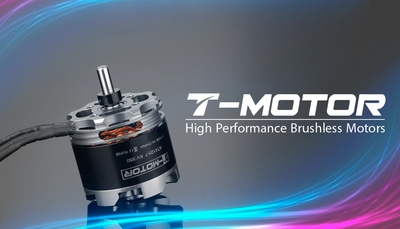High Performance Brushless T-Motor AT4120 KV550  for Planes 6mm Shaft 02P-Motor-341-AT4120-KV550