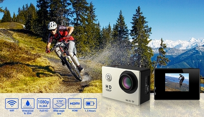 HobbyPartz Sport Action Spy Camera WIFI Waterproof Case