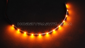 HobbyPartz Yellow LED-12 Lights 79P-10201