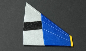Horizontal Tail (Left) Parts-ExceedF4E_06A03-08-Horizontal-L-Blue