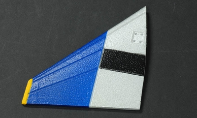 Horizontal Tail (Right) Parts-ExceedF4E_06A03-09-Horizontal-R-Blue