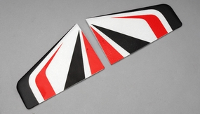 Horizontal wings(Red)