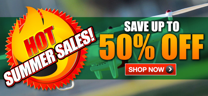 Hot Summer Sales!  Save Up to 50% OFF!