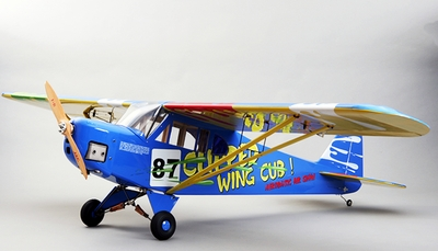 J3 Piper Cub 30CC Remote Control Gas Plane Kit RC Remote Control Radio