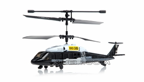 JXD 3 Channel Black Hawk Micro RC Helicopter w/Gyro (Black) RC Remote Control Radio