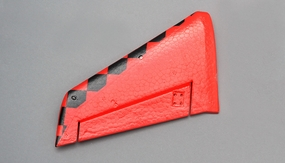 Left Tail Wing (Red) 69A501-03-TailWingLeft-Red