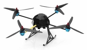 Lotus RC T80 Quad-Copter 4 Channel Almost Ready to Fly RC Remote Control Radio