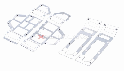 Main Frame Decorated Aluminum Plates 56P-9052-22