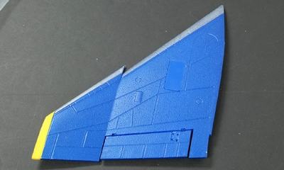 Main Wing (Left) Parts-ExceedF4E_06A03-06-Wing-L-Blue