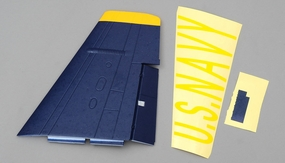 Main Wing Right (Blue) 95A251-02-MainWing-Right-Blue