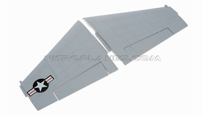 Main wing set (Gray) 93A18-02-Gray-MainWingSet