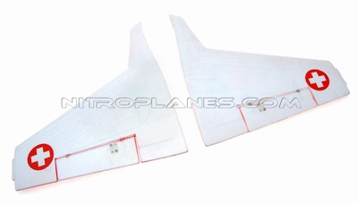 Main wing set (Red) 93A05-02-RED