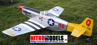 "Marie P-51 Mustang 60 - 66"" Replacement Parts [#90A20M]"