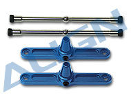 Metal Flybar Control Arm/Blue HN6001-84